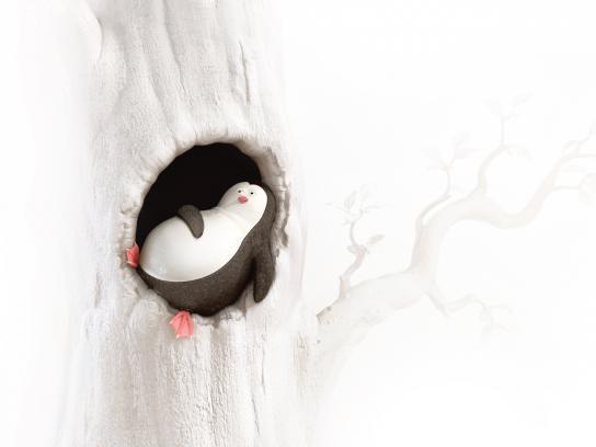 Airbnb Print Ad - Penguin