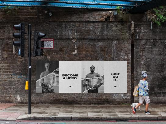 Nike Outdoor Ad - Hero