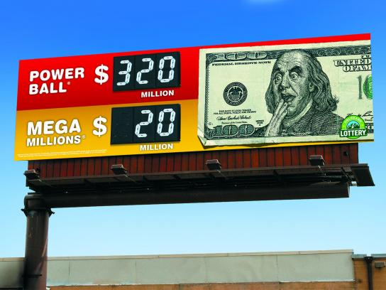 Colorado Lottery Outdoor Ad -  Franklin