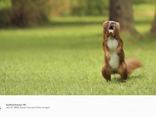 Volkswagen Print Ad -  Bearrel