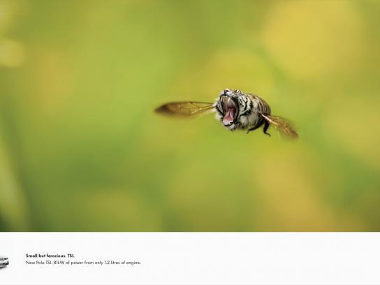 Volkswagen Print Ad -  Bumbletiger