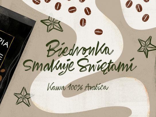 Biedronka Print Ad - Coffee