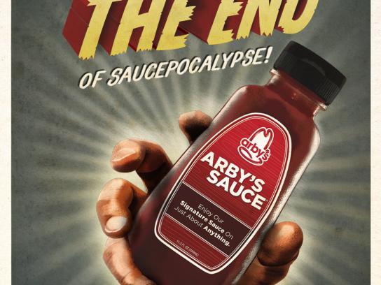Arby's Outdoor Ad -  Saucepocalypse, 7