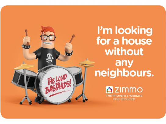 Zimmo Print Ad - The Property Website for Geniuses, 3