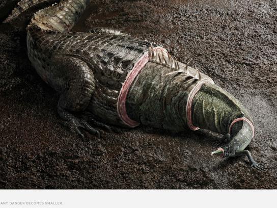 Sete Léguas Print Ad -  Crocfrog