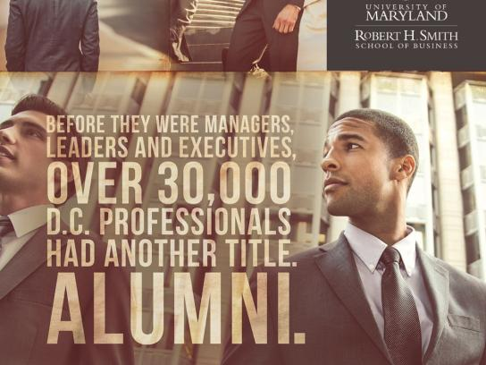 University of Maryland Print Ad -  Career, 3