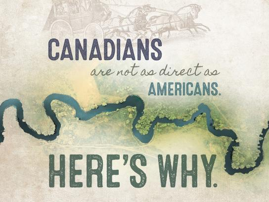 Canadian Canoe Museum Print Ad - Indirect Canadians