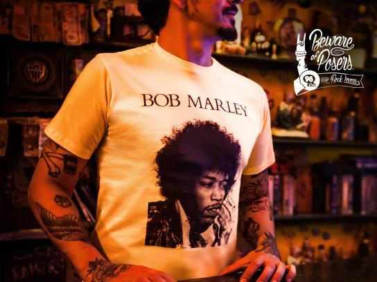 98FM Print Ad -  Bob Marley