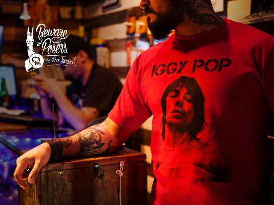 98FM Print Ad -  Iggy Pop