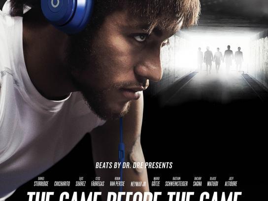 Beats Outdoor Ad -  Neymar