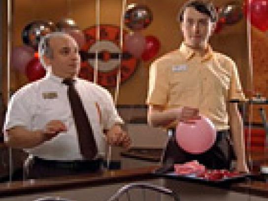 A&W Film Ad -  Balloon boy