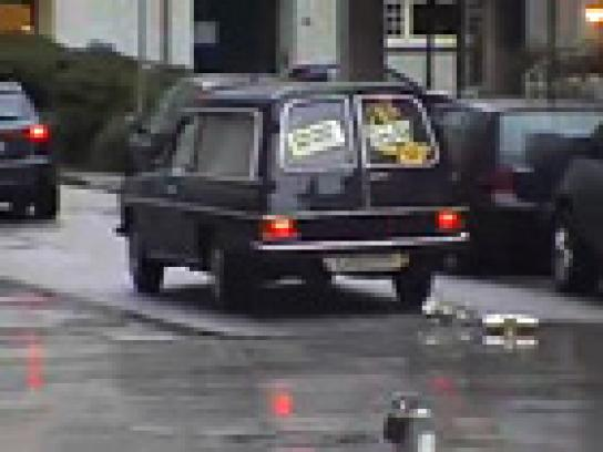 Comedy Central Ambient Ad -  Funeral ambient