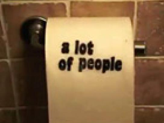 Charmin Ambient Ad -  The Helping Hand