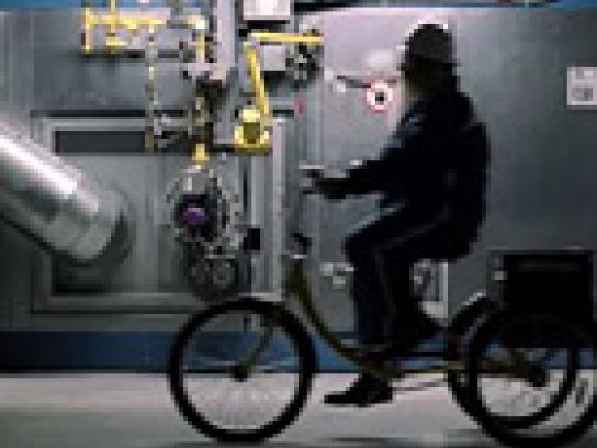 Mercedes Film Ad -  Winter Event, Factory