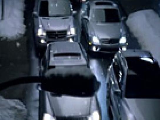 Mercedes Film Ad -  Winter Event, Sleigh