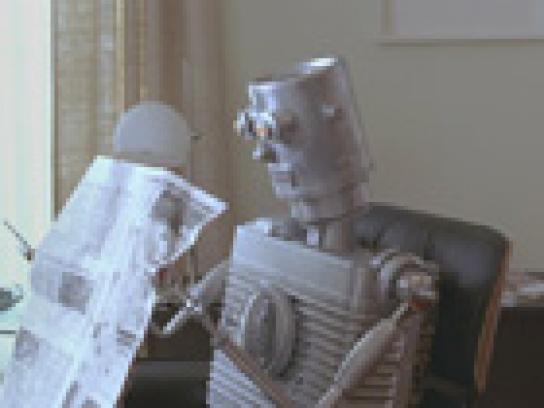 Pizza Pop Film Ad -  Robot friend