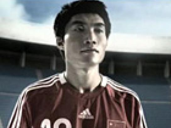Adidas Olympics 2008, Zheng Zhi