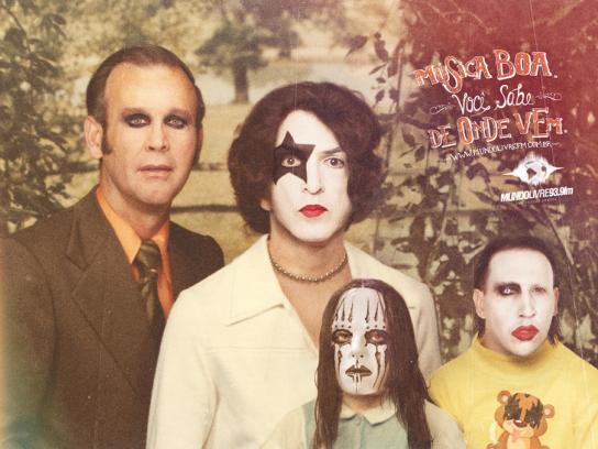 Mundo Livre FM Print Ad -  Family, 2