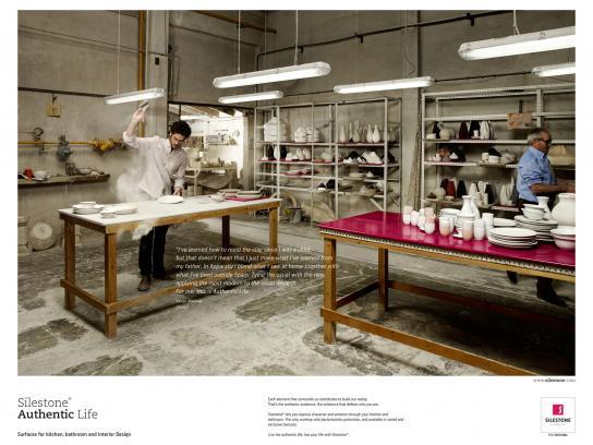 Silestone Print Ad -  Silestone Authentic Life, 5