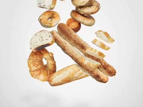 Calgary Farmers' Market Print Ad -  Fresh Everything, & Bread