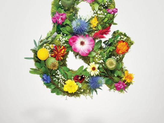 Calgary Farmers' Market Print Ad -  Fresh Everything, & Flowers
