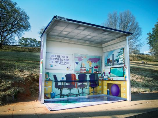 Hollard Insurance and Investments Outdoor Ad -  Business