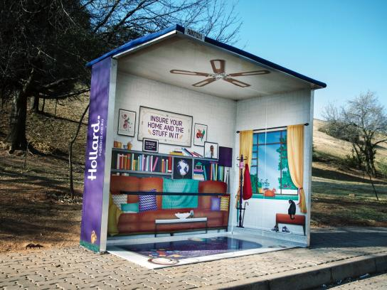 Hollard Insurance and Investments Outdoor Ad -  Home