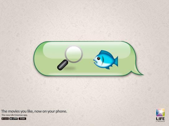 Life Cinemas Print Ad -  Finding Nemo