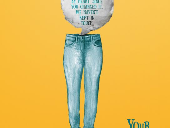 Diego Telaroli Print Ad -  Pants