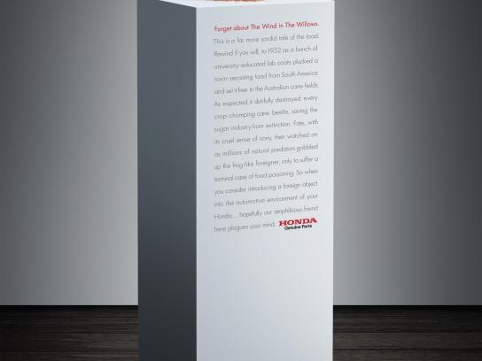Honda Print Ad -  Cane Toad