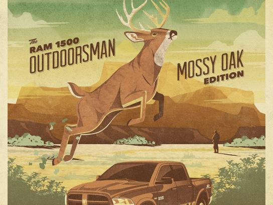 RAM Print Ad -  Truck Country - hunting