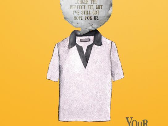 Diego Telaroli Print Ad -  T-shirt