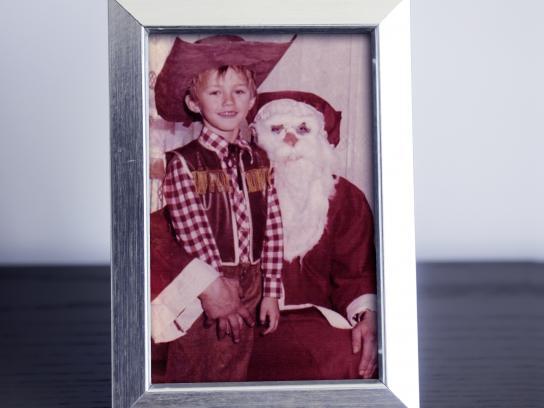 Muchimuchi Print Ad - Santa