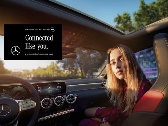 Mercedes Outdoor Ad - Connected Like You