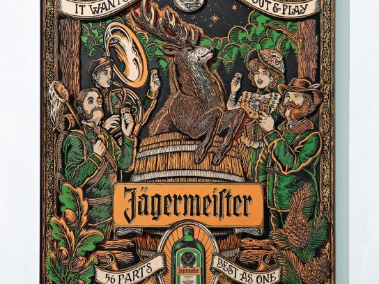 Jagermeister Print Ad -  Play