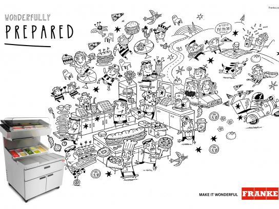 Franke Print Ad -  Make it wonderful, 1