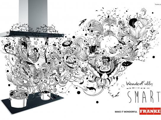 Franke Print Ad -  Make it wonderful, 2