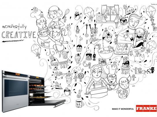 Franke Print Ad -  Make it wonderful, 3