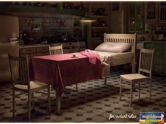 Sognid'oro Print Ad -  Instant relax