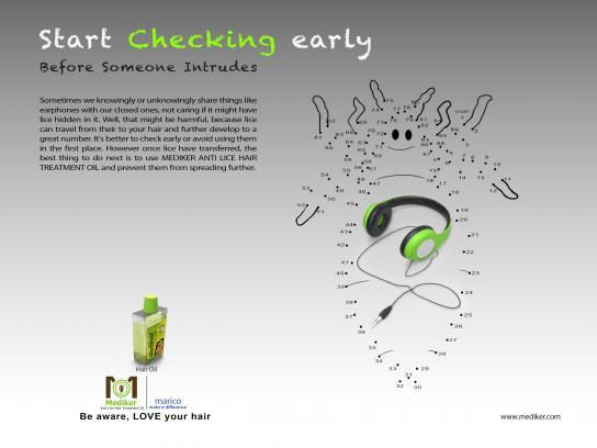 Mediker Print Ad - Headphone