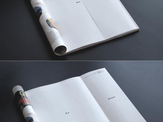 Audi Print Ad -  Longer