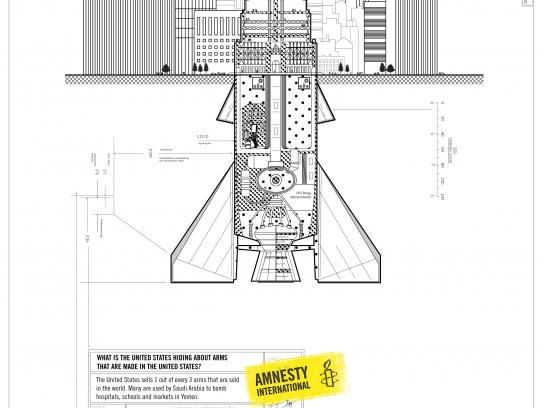 Amnesty International Print Ad - Weapons - EEUU