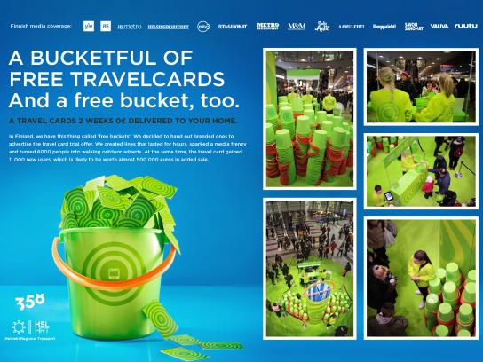 Travel Card Direct Ad - Free buckets