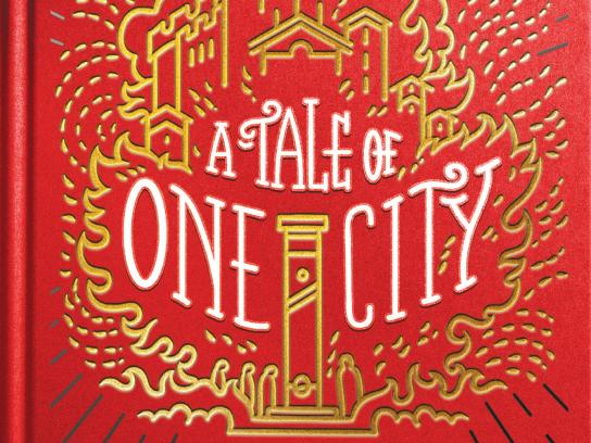 Blank Books Print Ad - 50% Off titles - A Tale of One City
