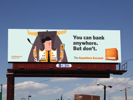 FirstBank Outdoor Ad - Matador