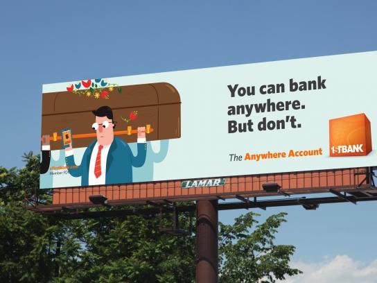 FirstBank Outdoor Ad - Pallbearer