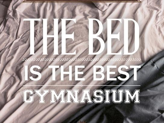 OCB Print Ad -  Virginminded, The bed
