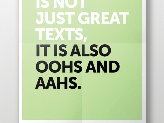 Fondation Cultura Print Ad -  Aahs