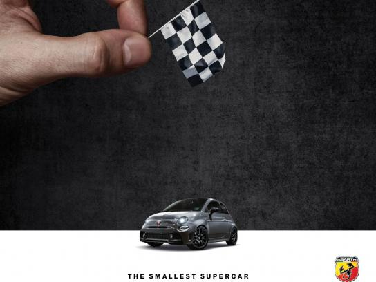 Abarth Print Ad - Smallest Supercar