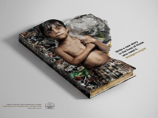 Abrinq Foundation Print Ad -  Gabriel